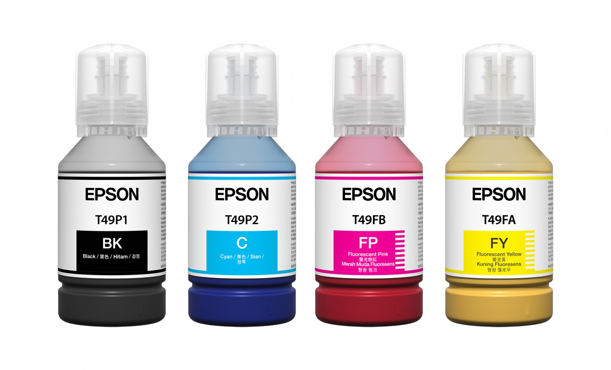 Fluorescentný sublimačný atrament EPSON C13T49P 140 ml
