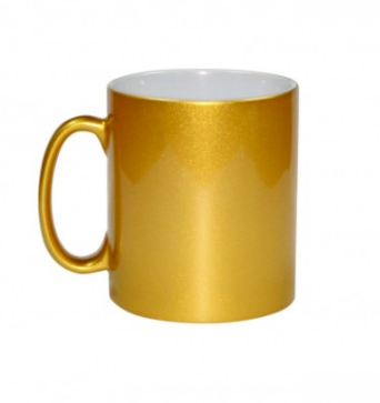 Mug Metalic 300 ml gold